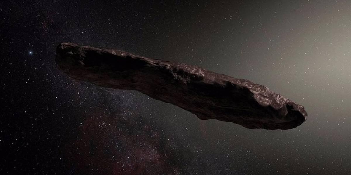 Objeto intergaláctico descubierto cruzando el Sistema Solar no sería una nave alienígena