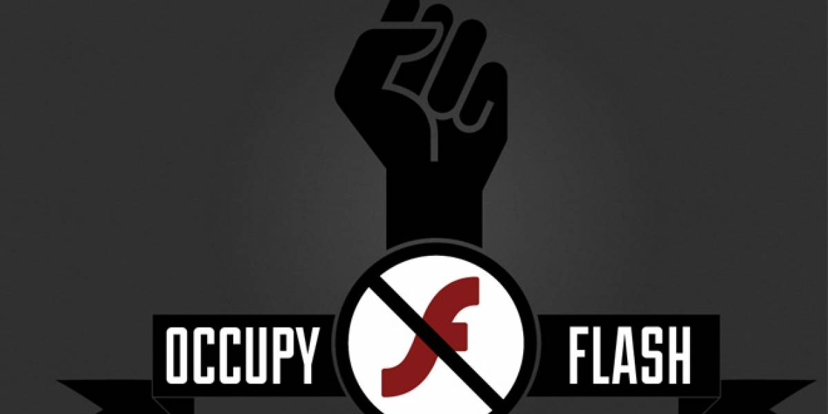 Occupy Flash, la campaña que buscar eliminar el plugin de Flash Player