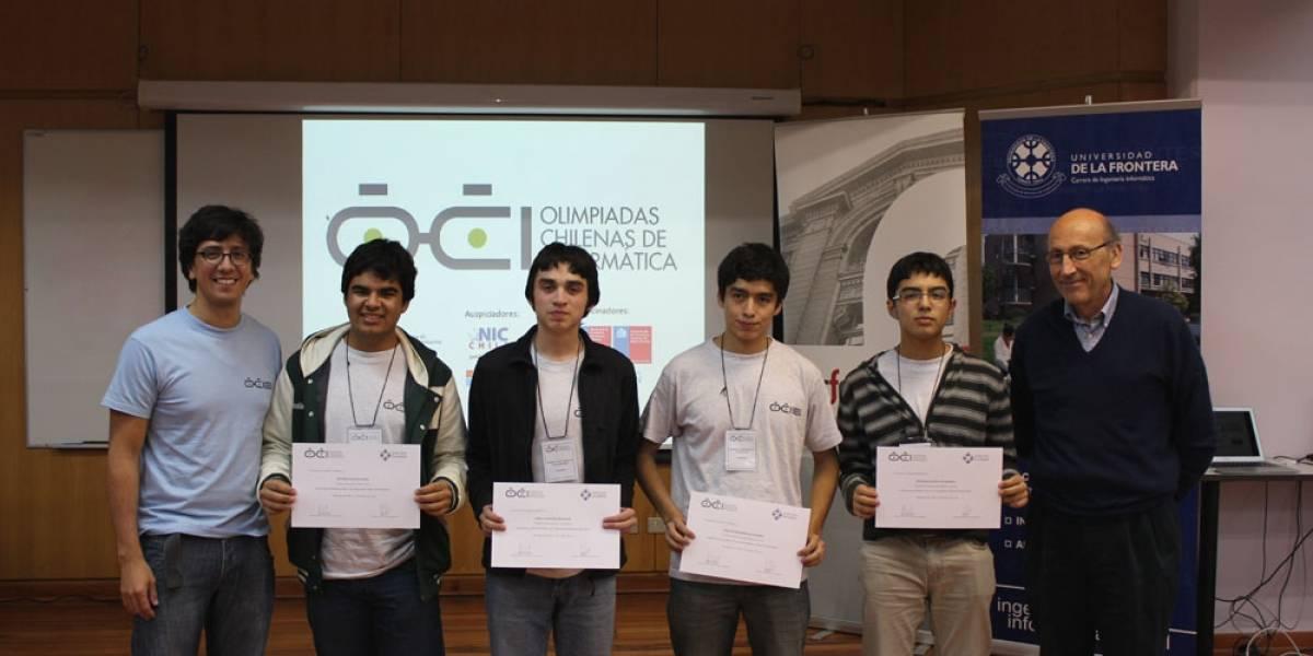 Cuatro chilenos participarán en la Olimpiada Internacional de Informática