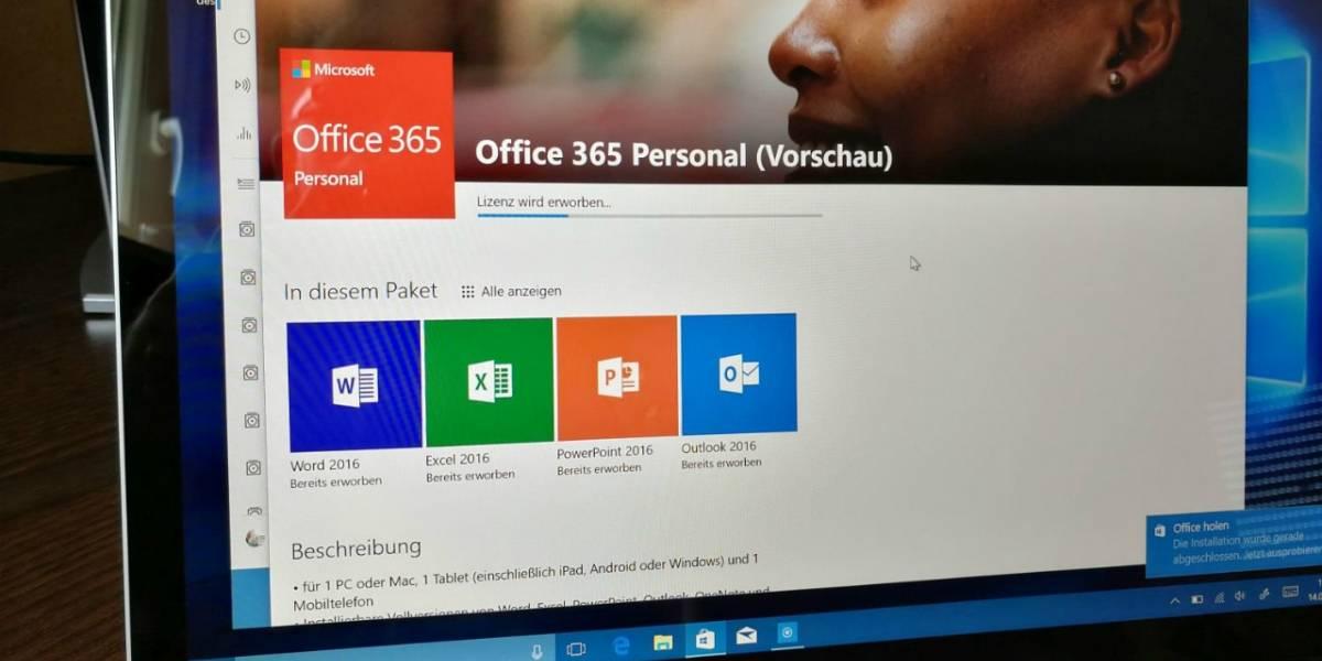 Microsoft Office finalmente disponible en la Tienda Windows
