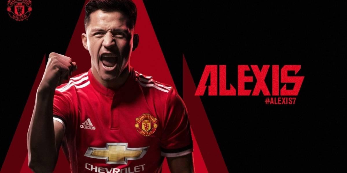 ¡Fichaje bomba! Alexis Sánchez ya es jugador del Manchester United