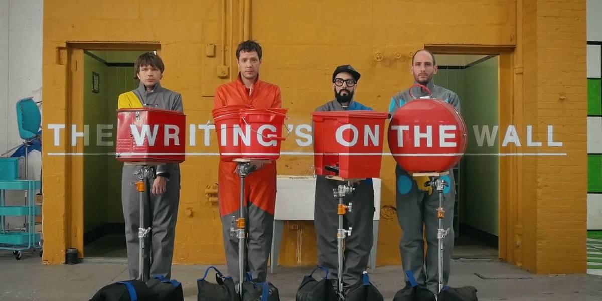 OK Go juega con la perspectiva en su nuevo videoclip