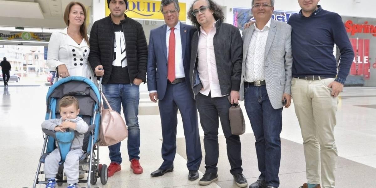 """Omar Pérez llegó a Patriotas: """"Les aseguro que todavía puedo"""""""