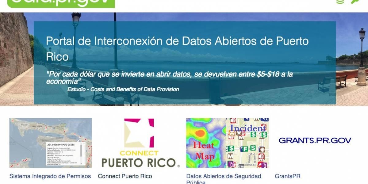 Puerto Rico abre sus datos