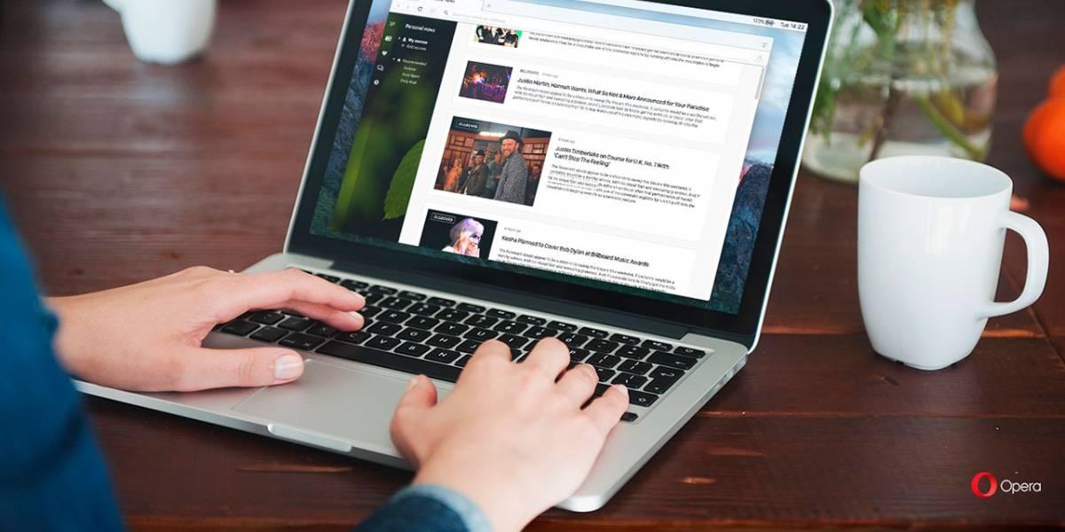 Opera lanza nueva versión de su navegador que es 86% más rápido en el arranque