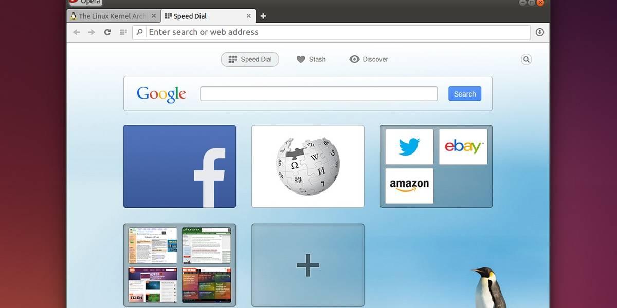 Ya puedes descargar Opera 24 basado en Chromium para Linux