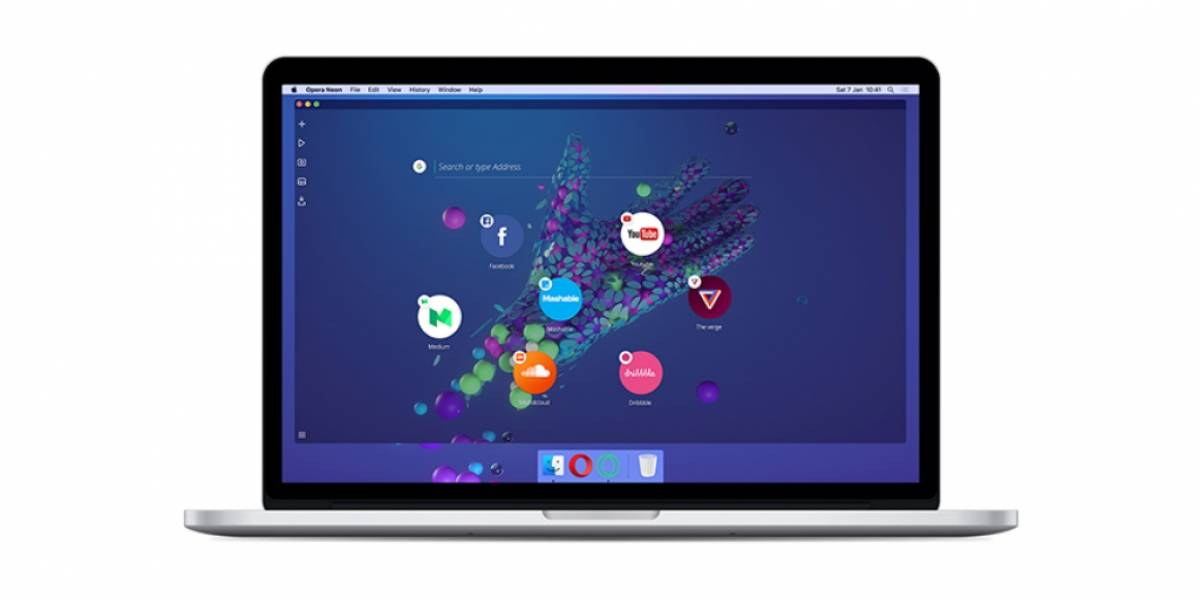 Opera Neon, un nuevo concepto de navegador para PC