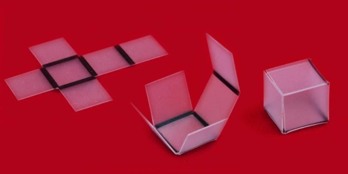Quiero un avión de papel que se haga solo, como este origami