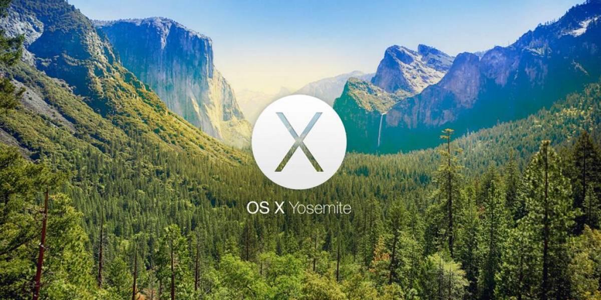 Apple presenta en video el nuevo diseño gráfico de OS X Yosemite