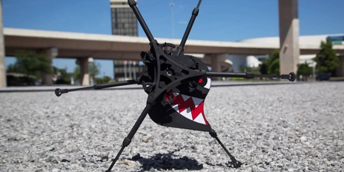 Robot corredor busca llegar a su meta en Kickstarter