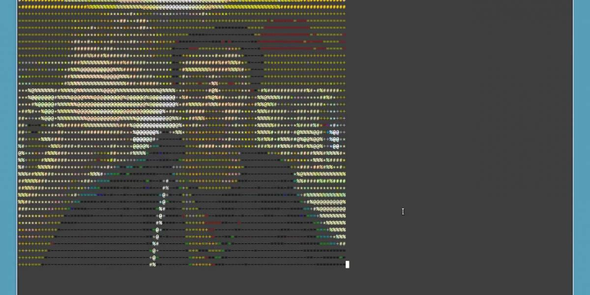 Software permite hacer videollamadas renderizadas en código ASCII por el Terminal