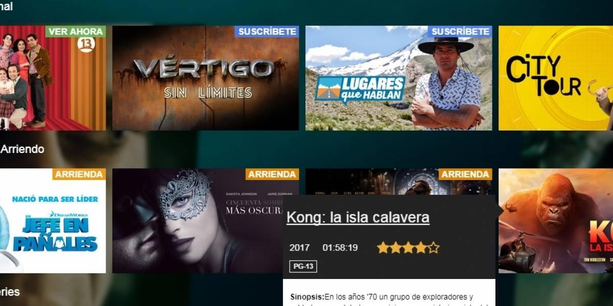 """Llega """"Pantalla Nacional"""", la sección de contenido chileno en Claro Video"""