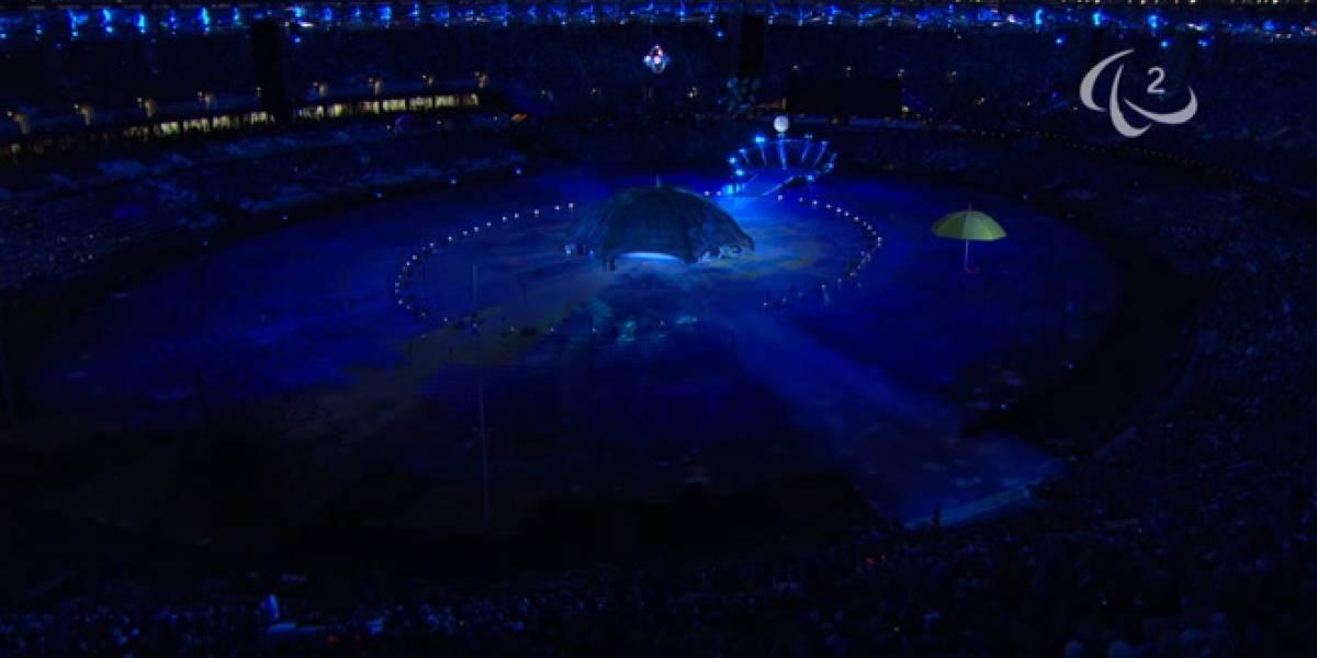 Ceremonia de apertura de los juegos paralímpicos celebra al Bosón de Higgs