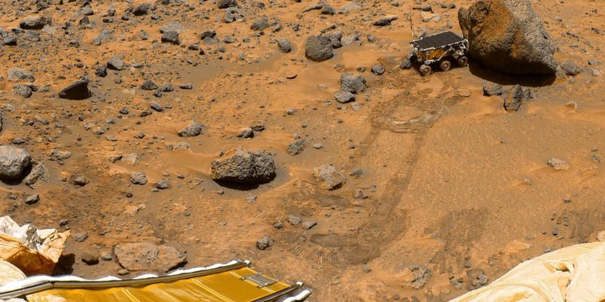 NASA celebra 20 años de su llegada a Marte con el Pathfinder