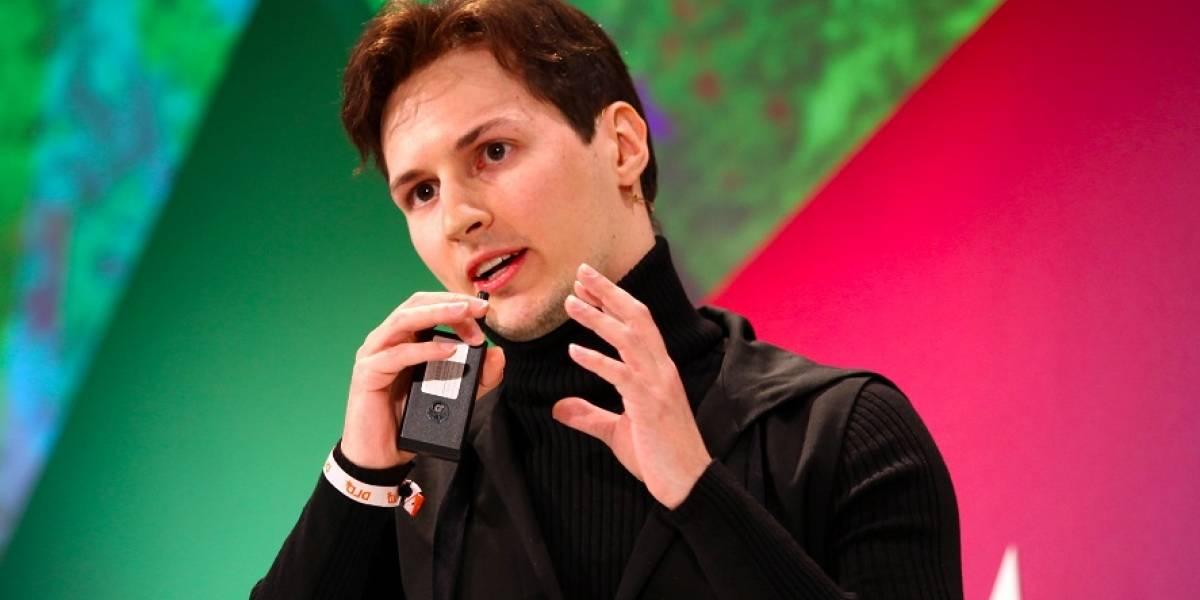 CEO de Telegram acusa a Estados Unidos de intento de soborno y persecución