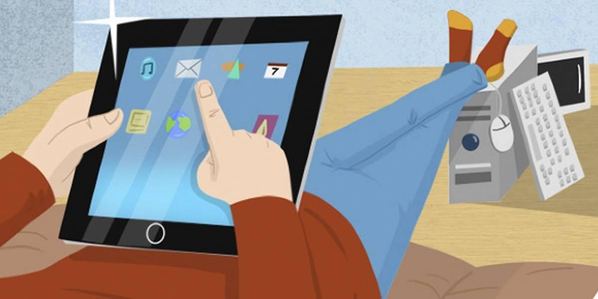 Este año las tabletas superarán a los notebooks, según IDC