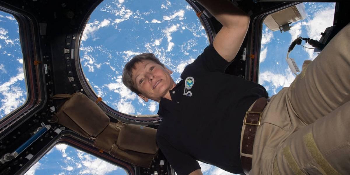 Peggy Whitson es la humana que más tiempo ha pasado en el espacio