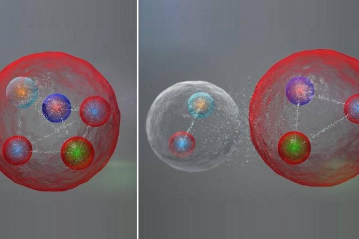 El Gran Colisionador de Hadrones descubre el Pentaquark