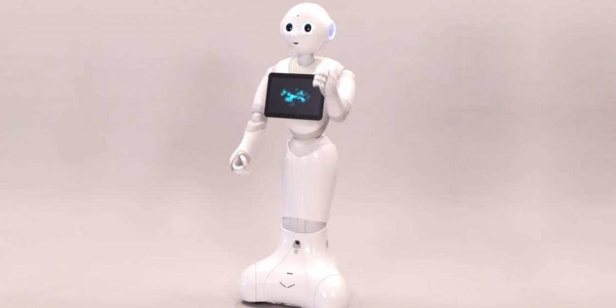Robot Pepper ahora también trabajará en hospitales de Bélgica
