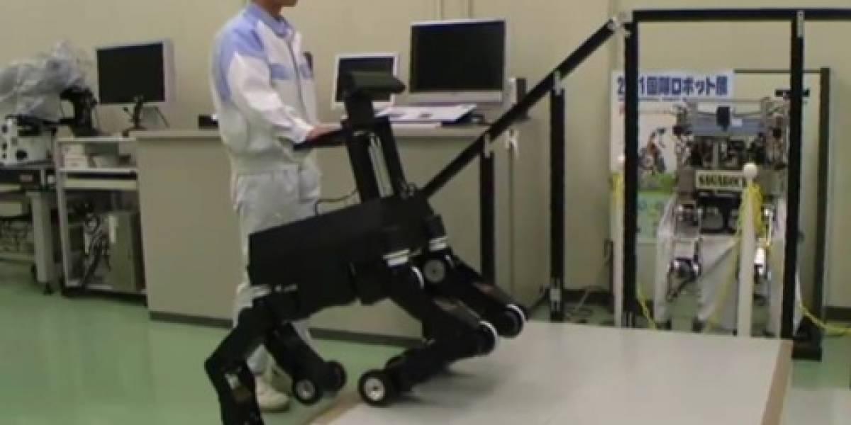 Perro-robot-kinect es un nuevo guía para ciegos