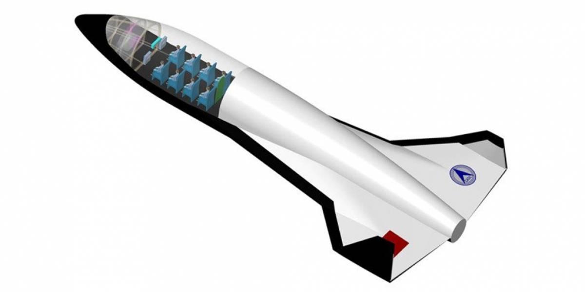 China busca construir la más grande nave de Turismo Espacial