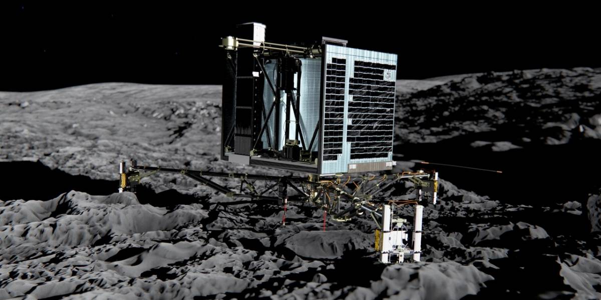 Despertó la sonda Philae