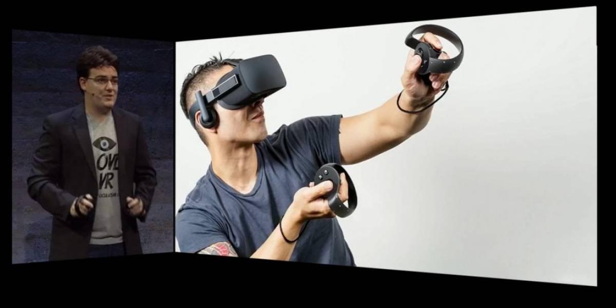 Este es Oculus Rift, compatible con Xbox One y sensores de movimiento