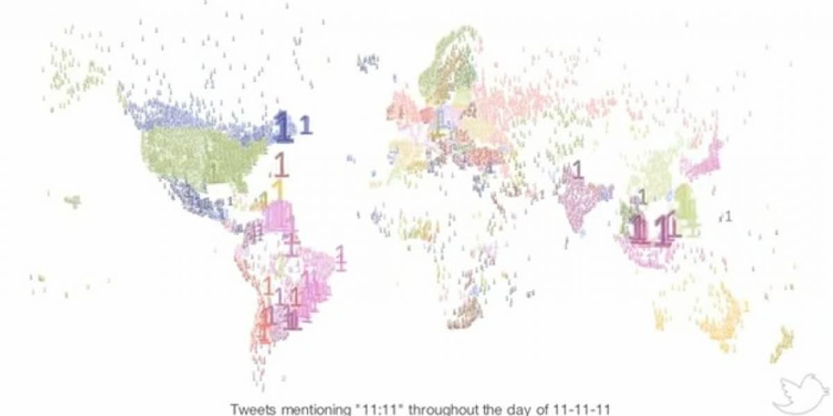 El 11/11/11 en Twitter