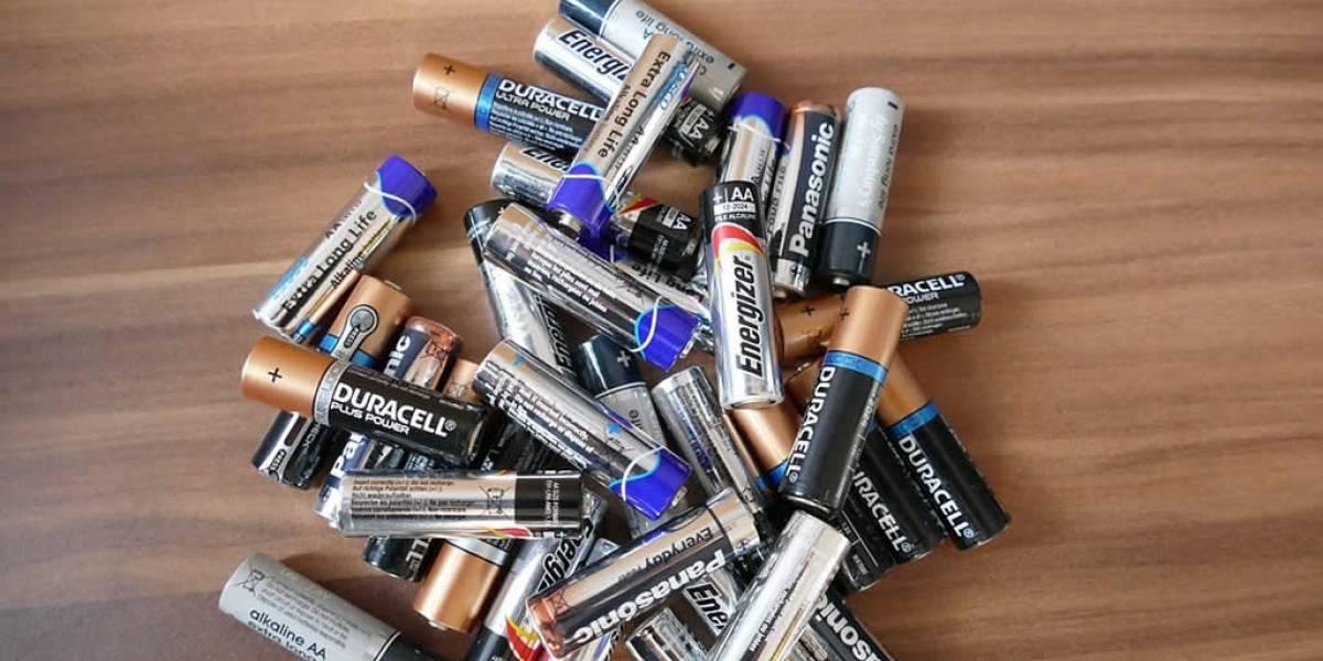 Presentan la primera batería fabricada con pilas recicladas
