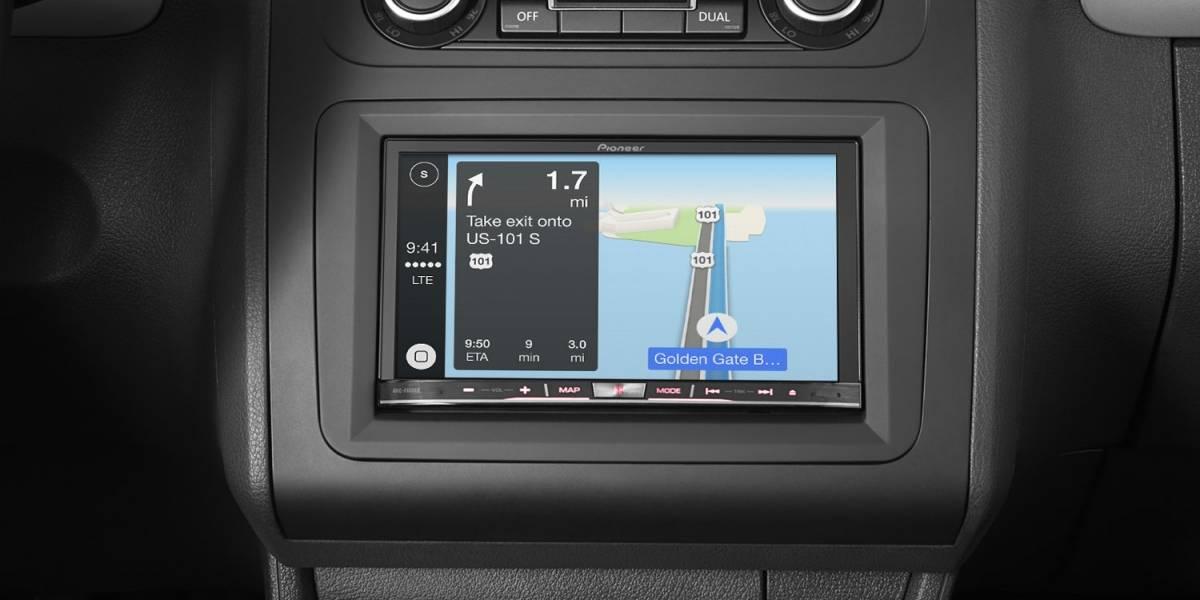 Pioneer actualizará equipos para hacerlos compatibles con Carplay