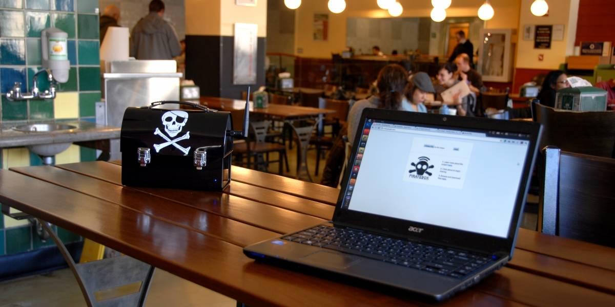 PirateBox, la caja para compartir archivos de forma libre