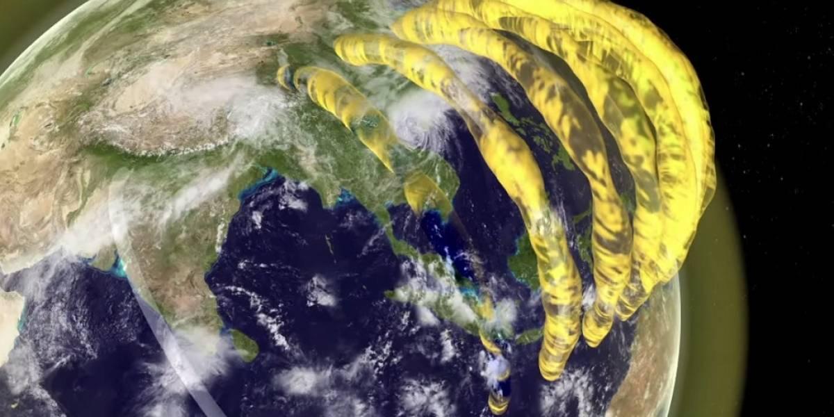 Estudio confirma la existencia de enormes tubos de plasma flotando sobre la Tierra