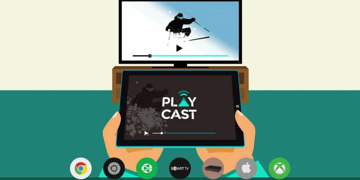 Playcast lleva el soporte para Chromecast a Xbox One