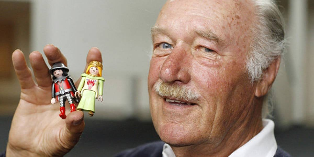 Fallece creador de los juguetes Playmobil