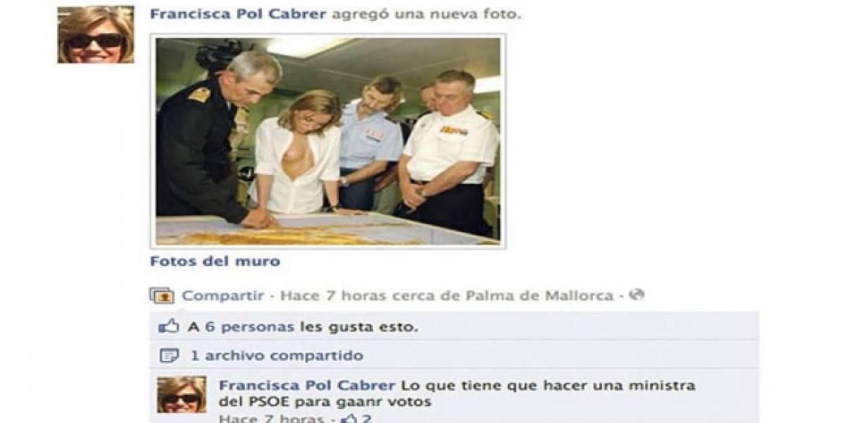 España: Candidata por el PP al Senado dimite tras publicar un fotomontaje en Facebook