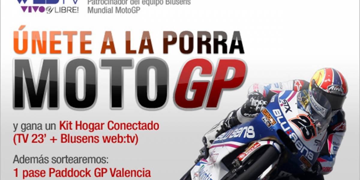 Tecnología y talento: Claves de Blusens en el Mundial de MotoGP 2011