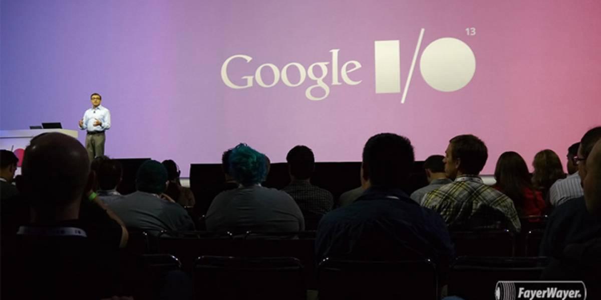 Todo lo que vimos en la primera jornada del evento Google I/O 2013 #IO13