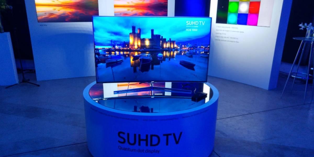 Samsung presenta sus nuevos televisores SUHD