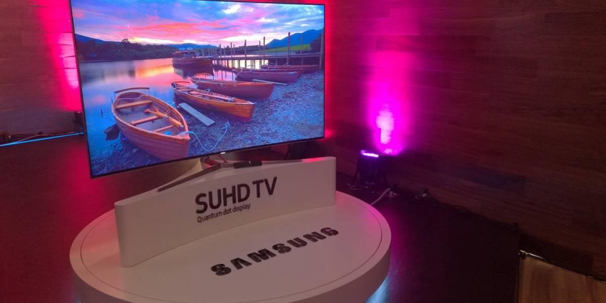 Samsung presentó su nueva línea de SUHD TV en México