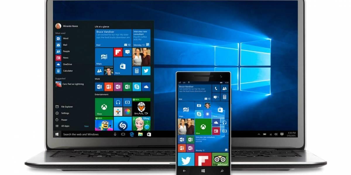 El menú de inicio de Windows 10 recibe un reconocimiento de diseño