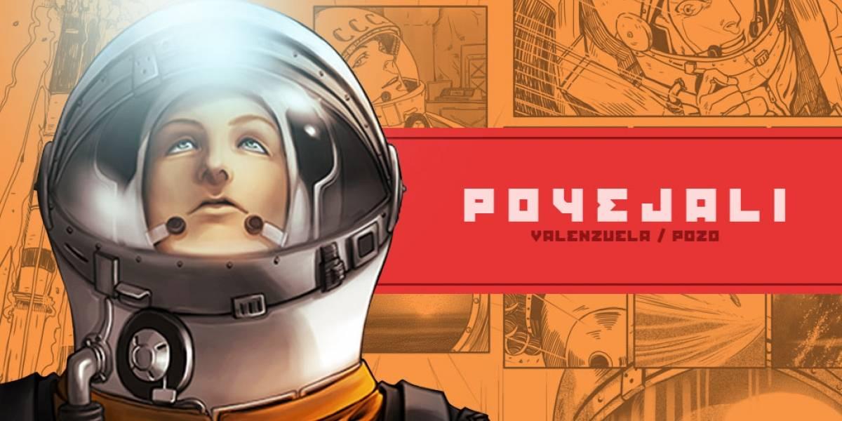 """La historia de """"Poyejali"""", el cómic chileno que homenajea a Yuri Gagarin"""