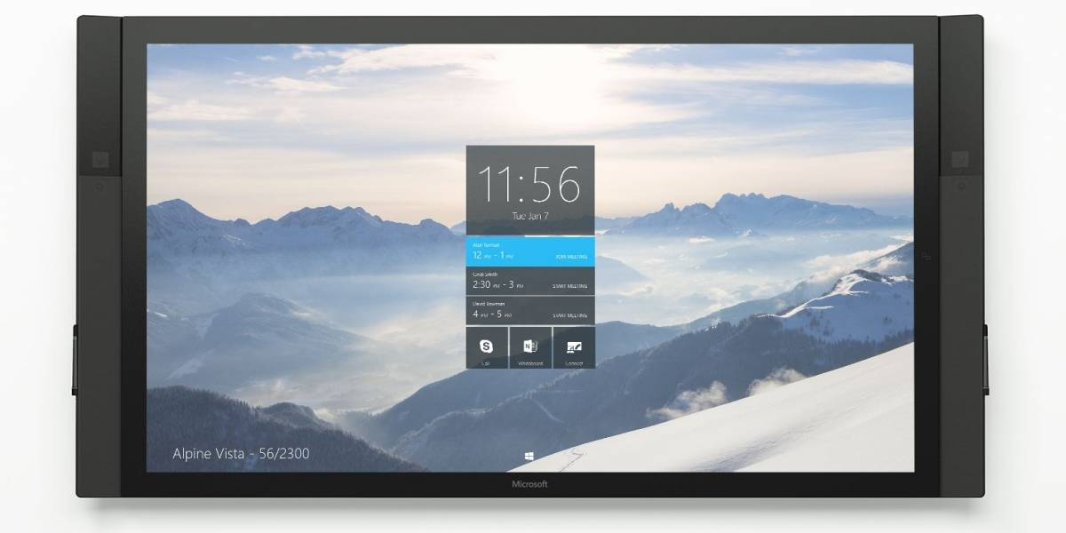 Microsoft anuncia Surface Hub, su primer dispositivo para Windows 10