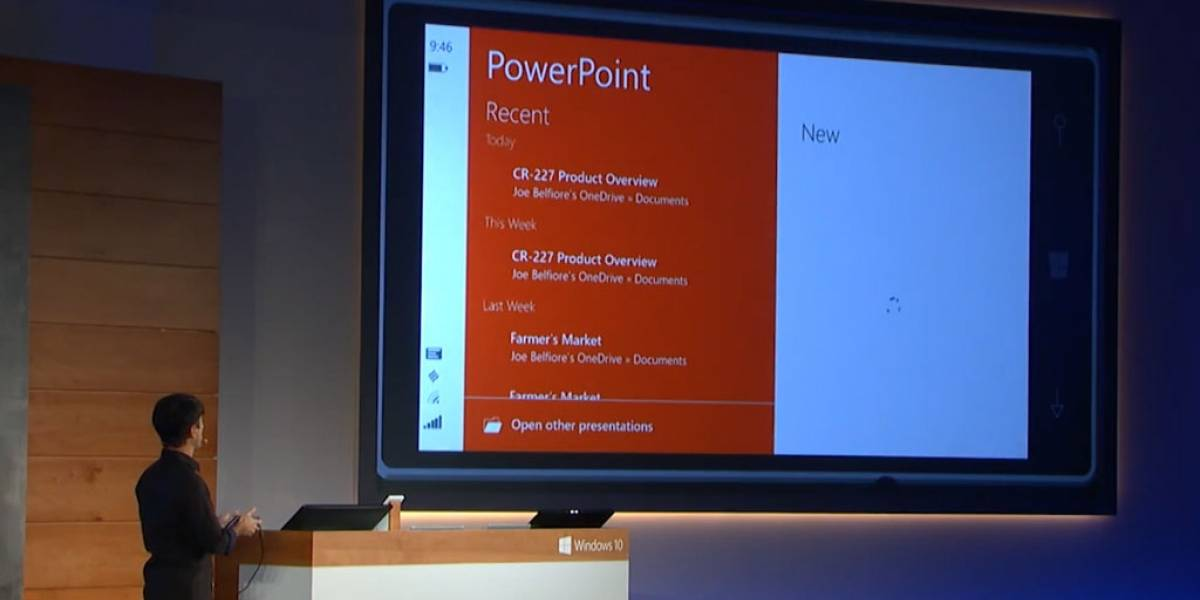 Microsoft anuncia Office para Windows 10