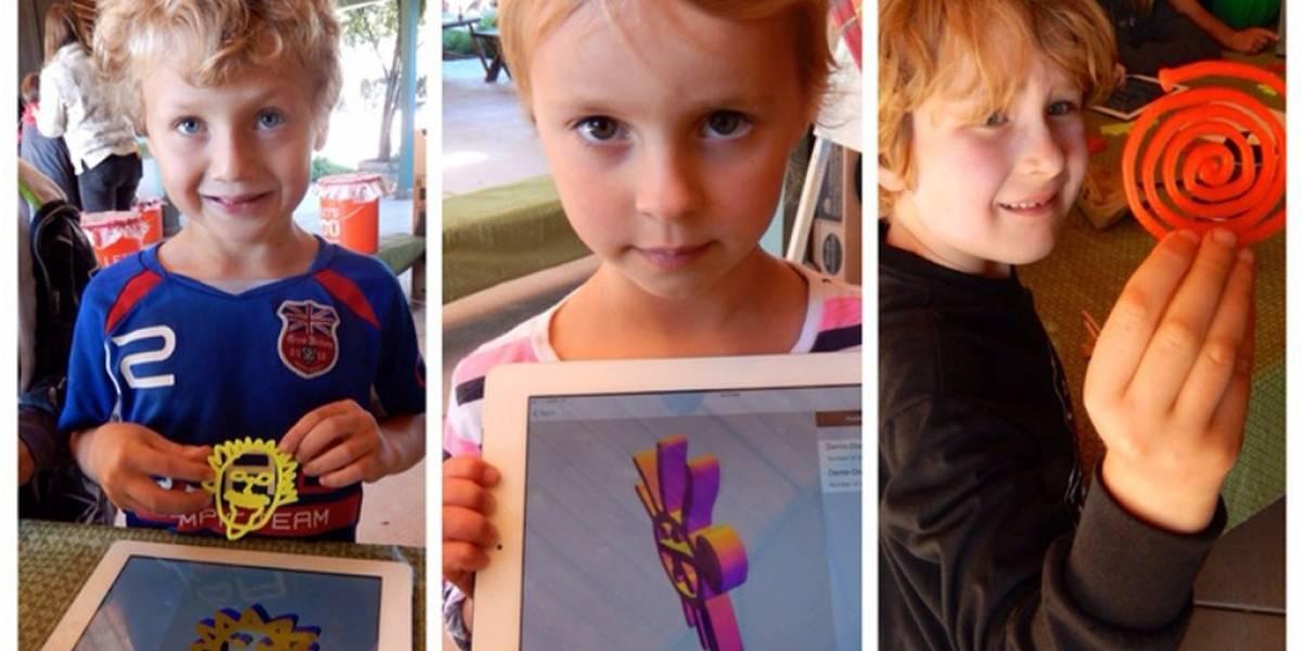Proyecto en Kickstarter reúne fondos para crear una impresora 3D para niños
