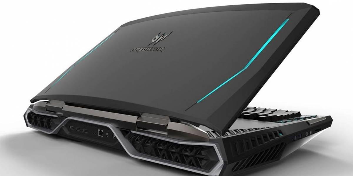 Acer solo fabricará 300 unidades de su monstruosa laptop de 21 pulgadas