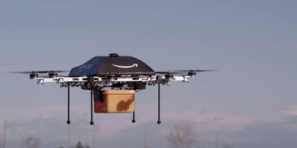 Amazon quiere tener espacio aéreo dedicado sólo para drones