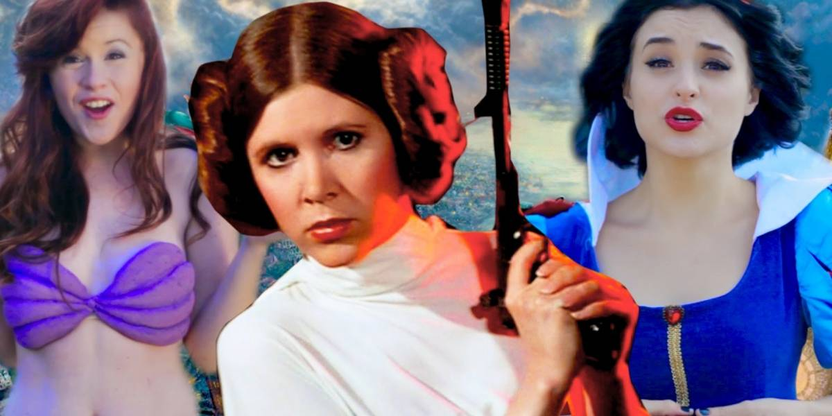 Seguidores de Carrie Fisher quieren que Leia sea una princesa Disney