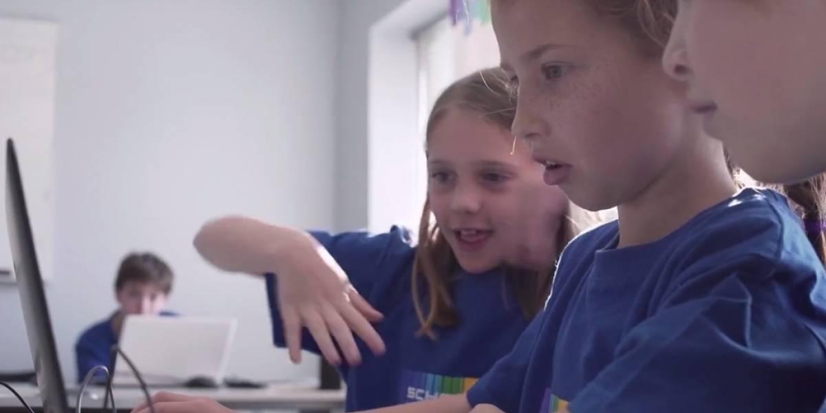 Microsoft Chile organiza taller de programación para niños