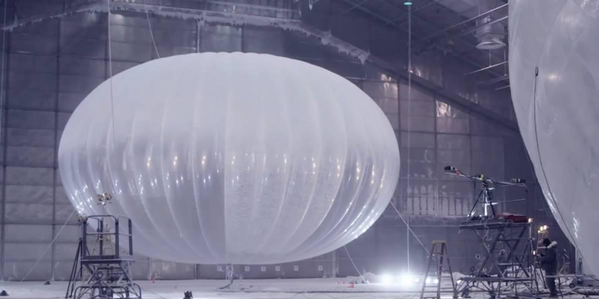 Globo de Google se precipitó en la Región del Bío Bío