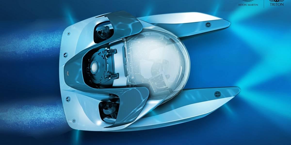 Este submarino de Aston Martin parece sacado de una película de James Bond
